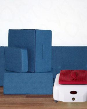 Комплект вспомогательных подушек Кандадзя (Цвет синний)