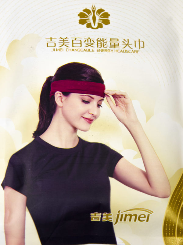 Энергонасыщающий головной платок